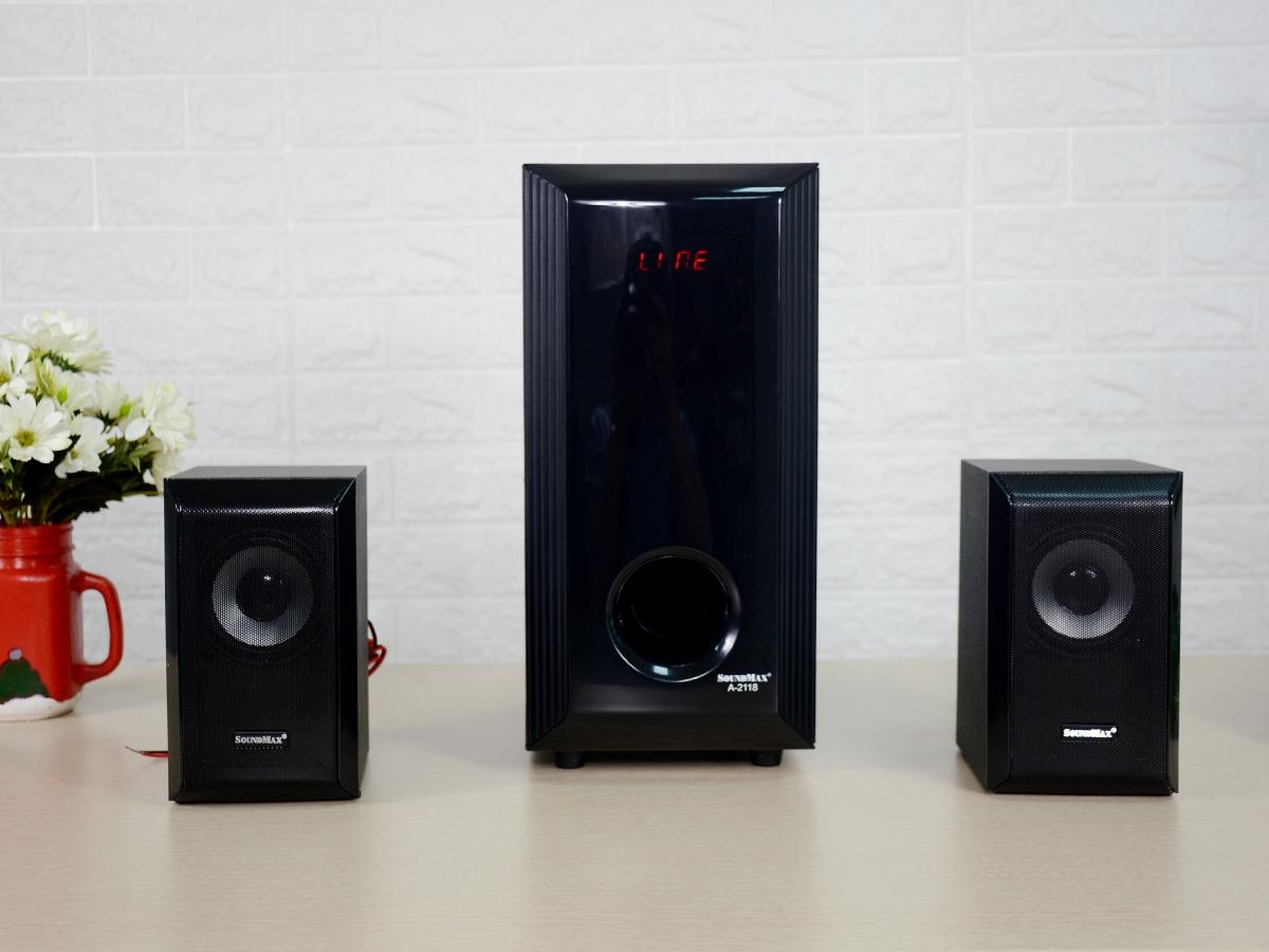 Loa bluetooth SoundMax A-2118 2.1