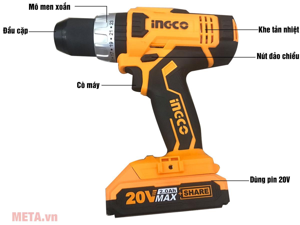 INGCO CDLI2003 20V