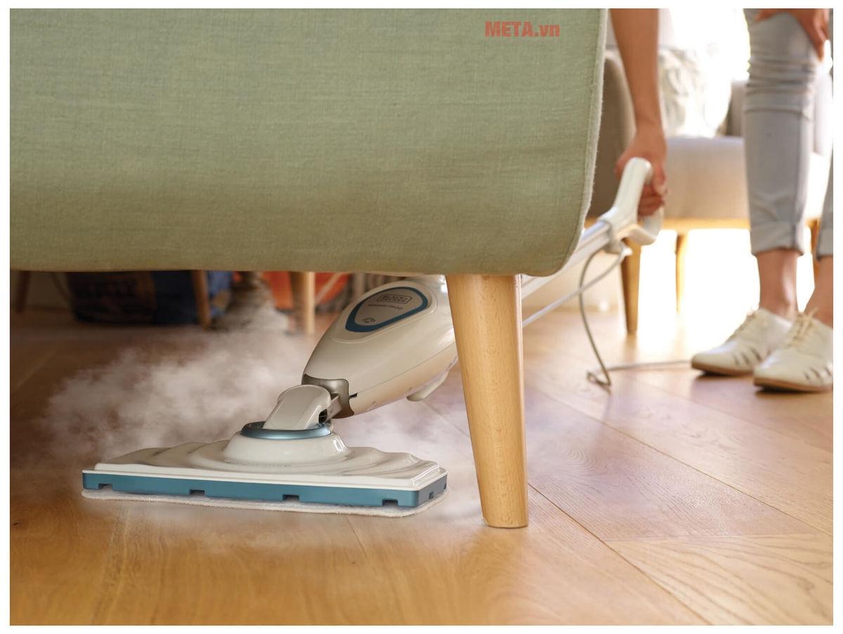 Máy lau sàn hơi nước