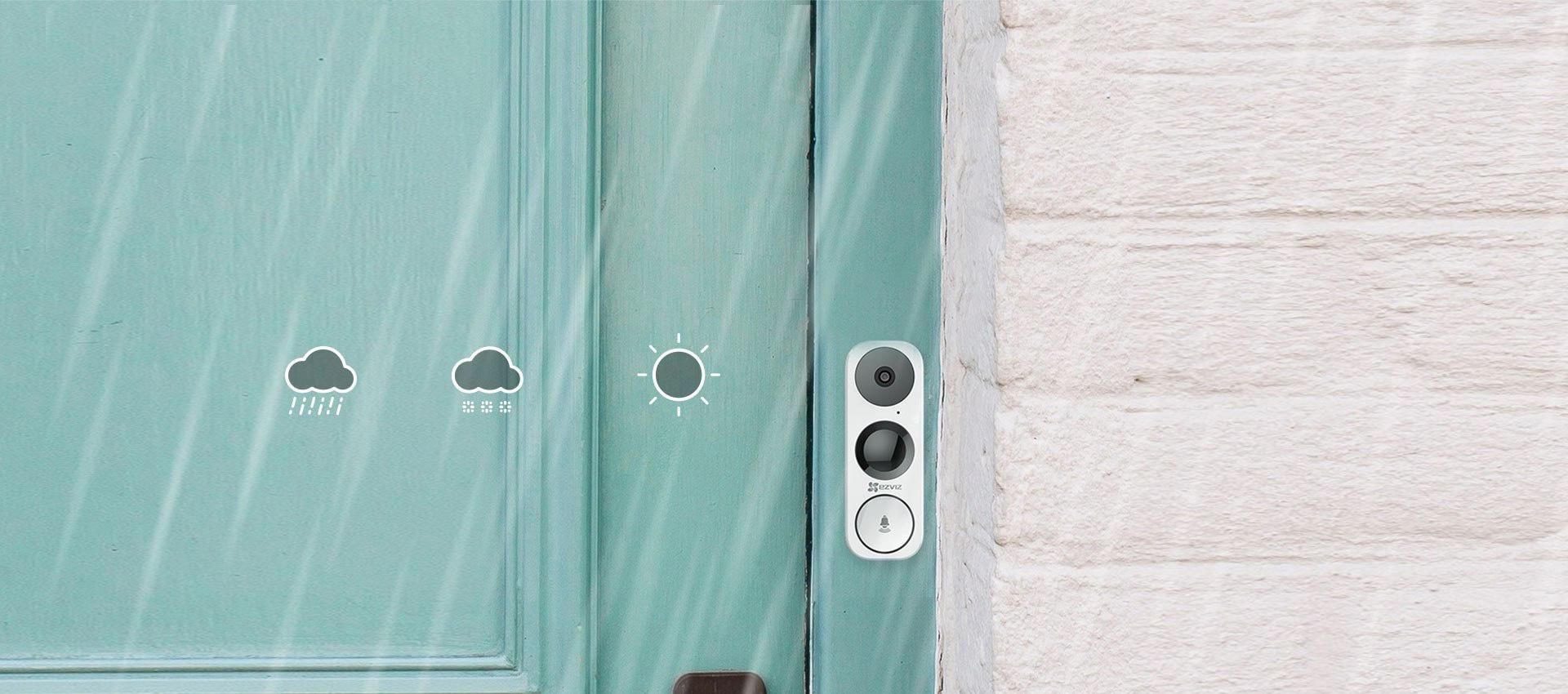 Camera chuông Ezviz thiết kế thông minh, chịu nhiều điều kiện thời tiết