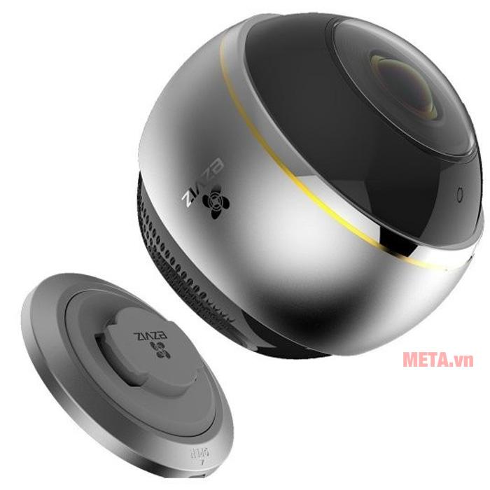 Camera Ezviz CS-CV346-A0-7A3WFR Mini Pano có âm thanh đàm thoại chân thực