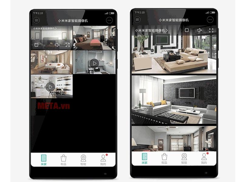 Ứng dụng kết nối điện thoại Xiaomi Mi Home Security Basic 1080p - QDJ4047GL
