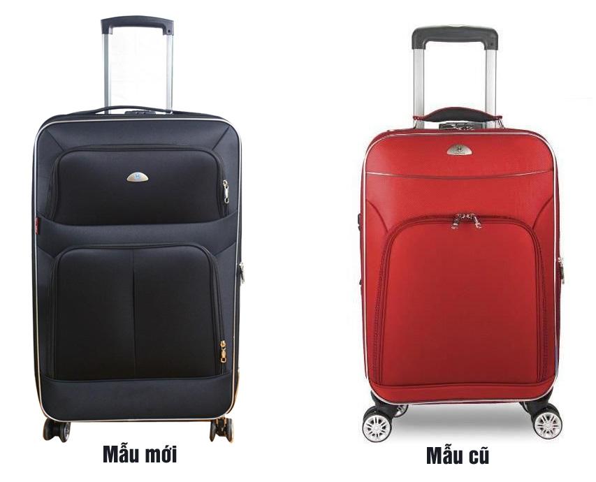 Vali 4 bánh xoay VLX015 có 2 mẫu
