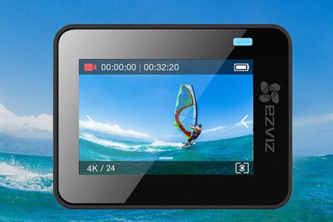 Màn hình camera Ezviz S3 cảm ứng, trải nghiệm tự nhiên như trên điện thoại
