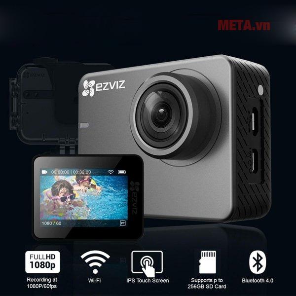 Camera Ezviz S3 tích hợp nhiều tính năng vượt trội