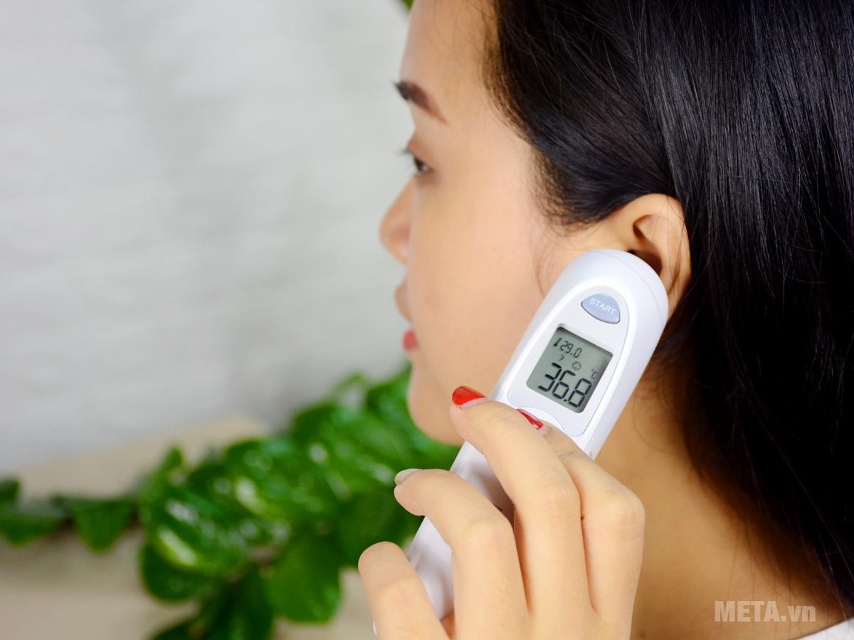 Hướng dẫn sử dụng nhiệt kế đo tai
