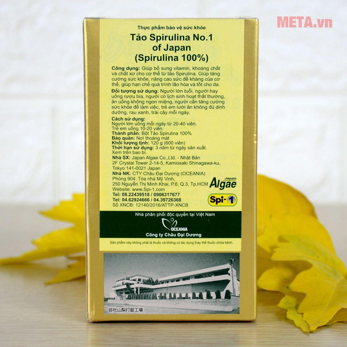 Hướng dẫn sử dụng tảo Spirulina