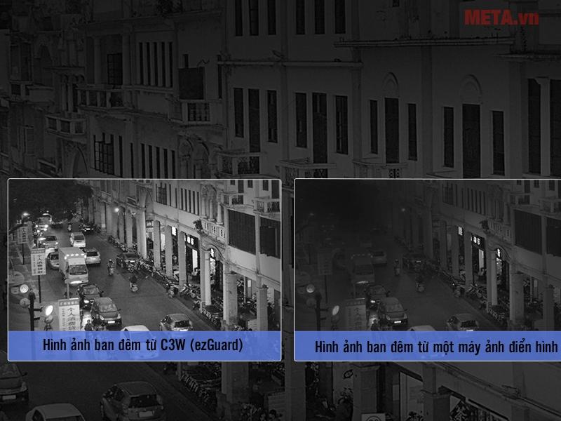 Hình ảnh được thu nhận từ camera wifi Ezviz CS-CV310-A0-1B2WFR