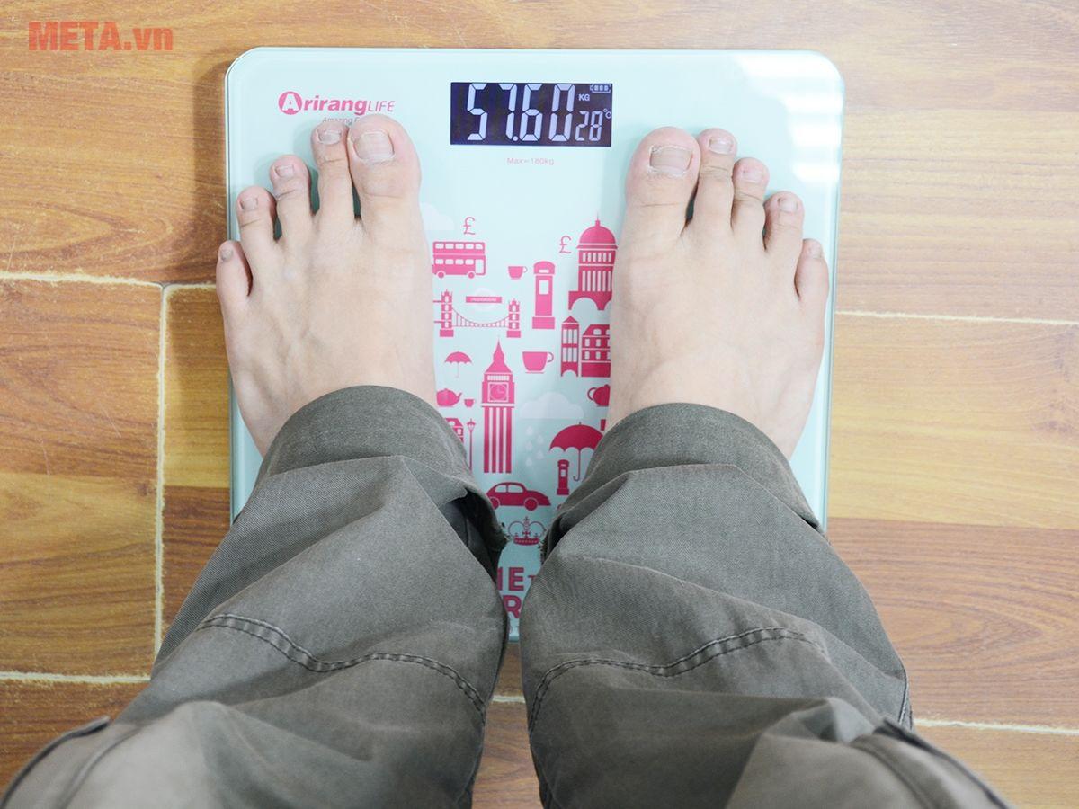Sử dụng cân dễ dàng