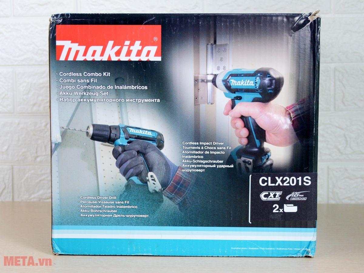 Hộp đựng máy bắt vít chạy pin Makita CLX201S