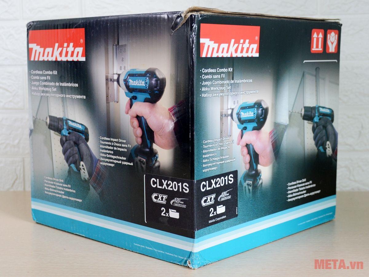Bộ máy bắt vít chạy pin Makita CLX201S