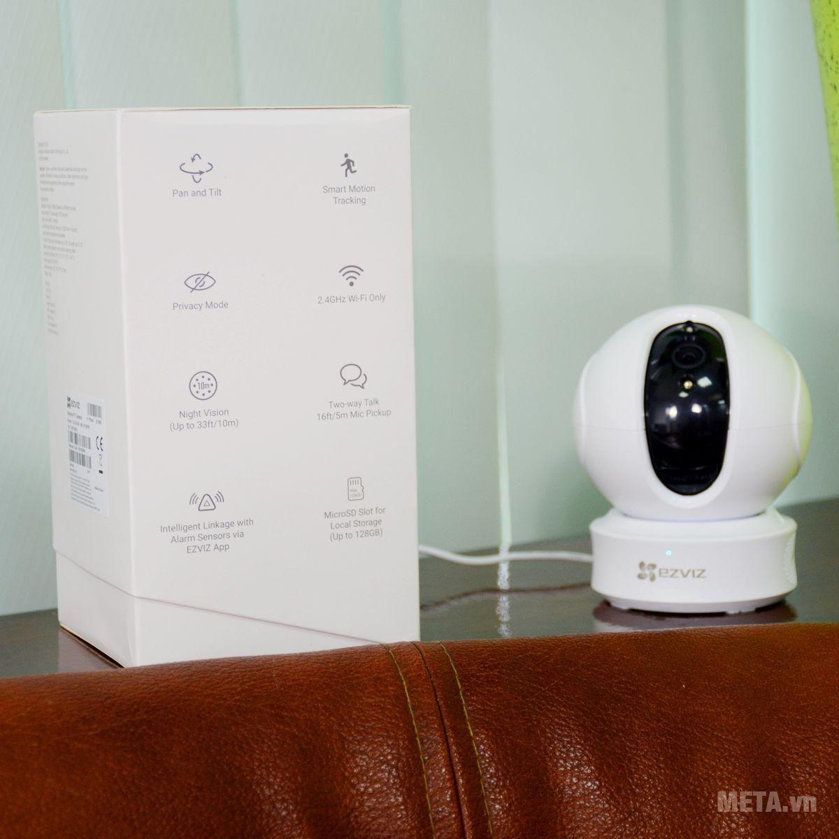 Camera Ezviz tích hợp nhiều tính năng