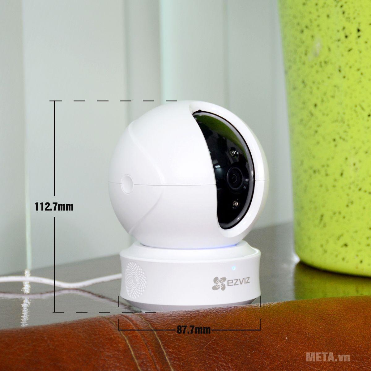 Kích thước camera EZVIZ CS-CV246 ez360 (C6CN 720P)