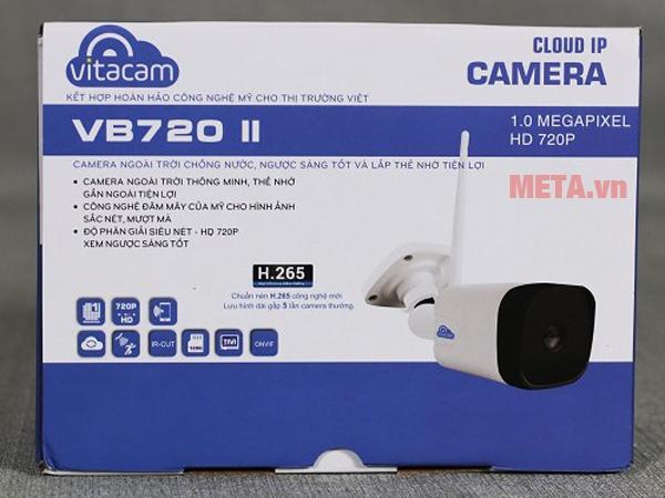 Hộp đựng camera wifi ngoài trời Vitacam VB720II