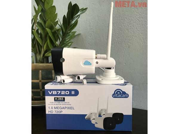 Camera Vitacam hỗ trợ 1 anten chống nhiễu