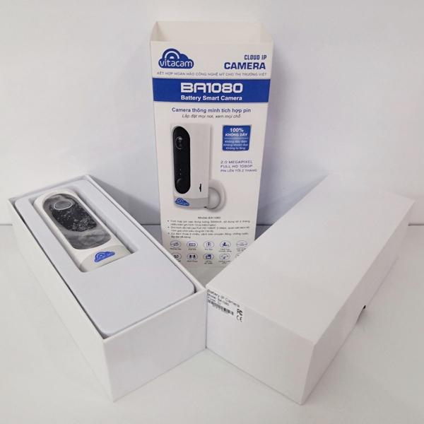 Hộp đựng sản phẩm chắc chắn, bảo vệ thiết bị trong quá trình vận chuyển
