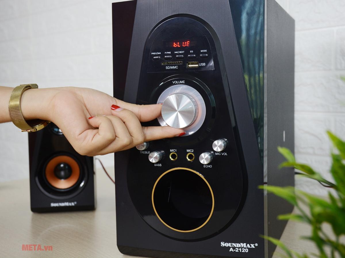 Loa karaoke bluetooth Soundmax