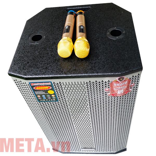 Loa kéo di động hát karaoke