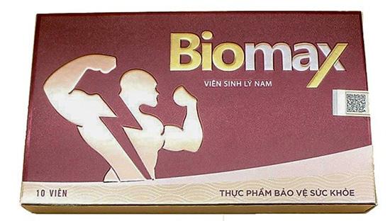 Viên Biomax sinh lý nam (10 viên)