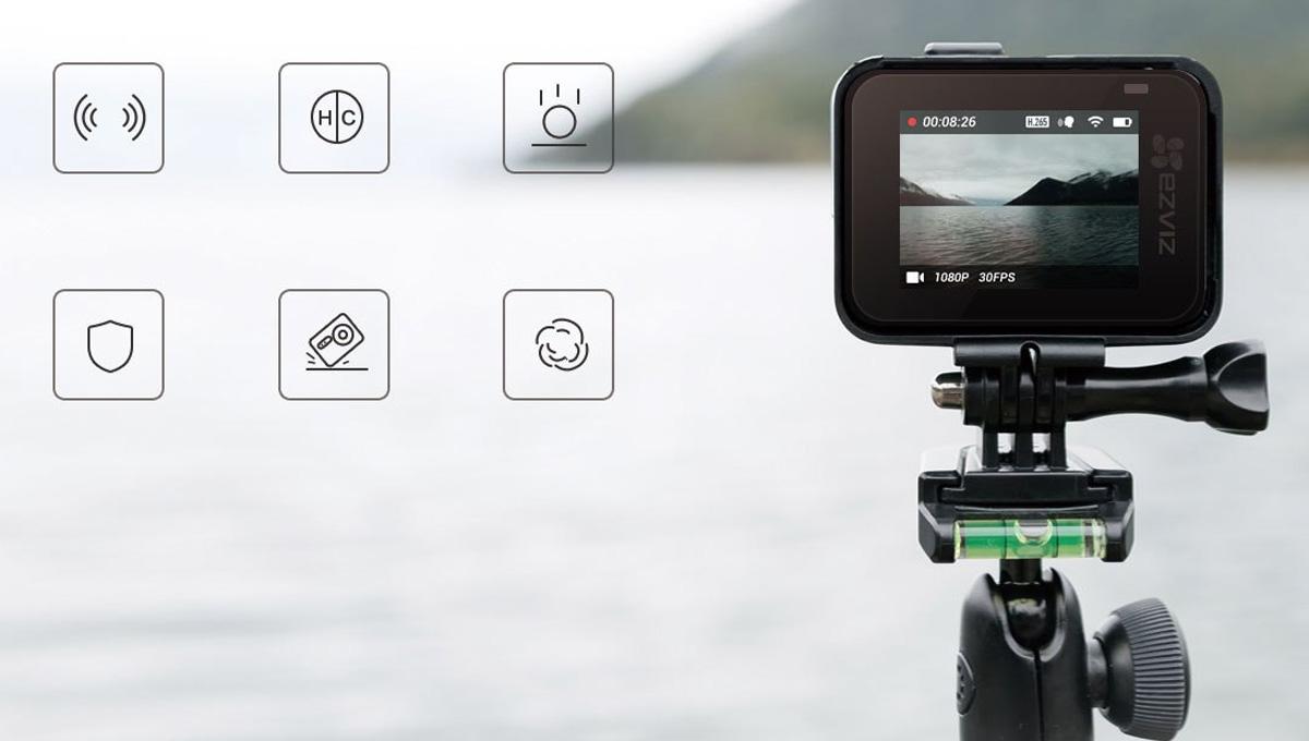 Hình ảnh camera hành trình Ezviz S6 4K ngoài đời thực