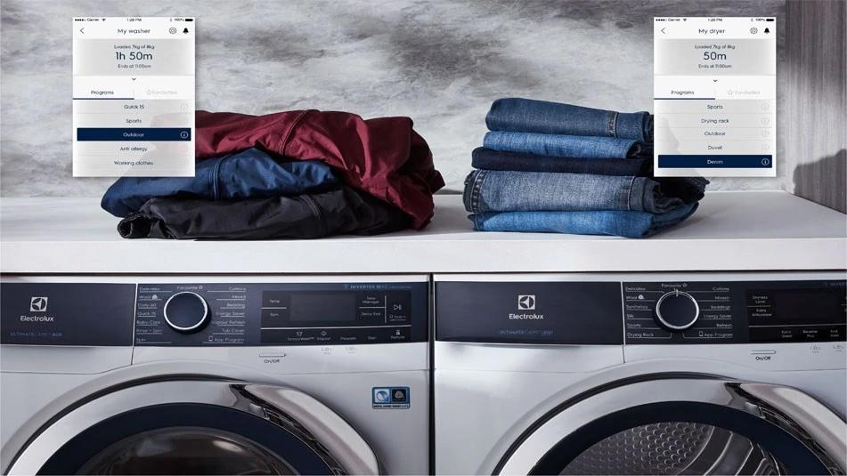 Ứng dụng hỗ trợ giặt