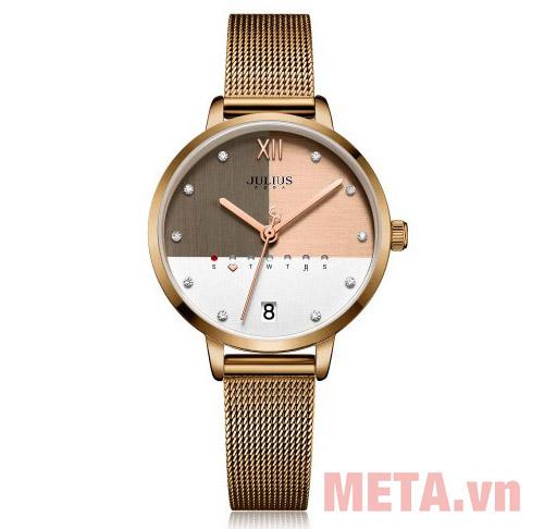 Đồng hồ nữ màu nâu