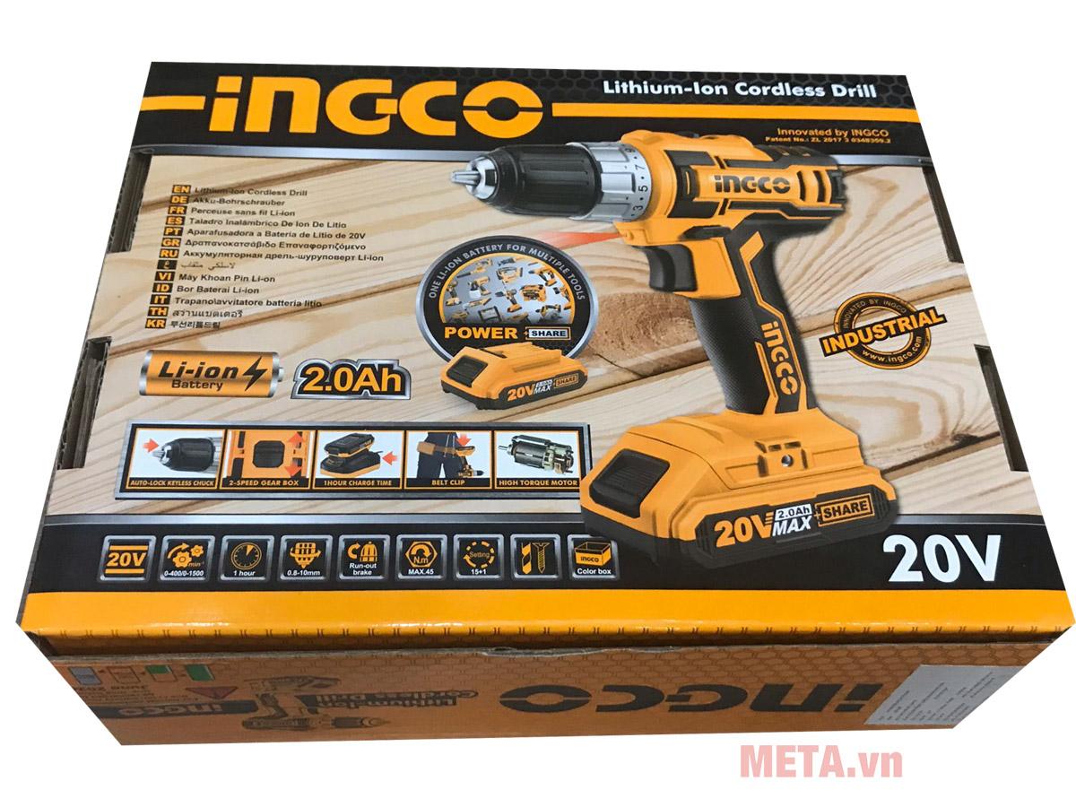 INGCO CDLI20021 20V