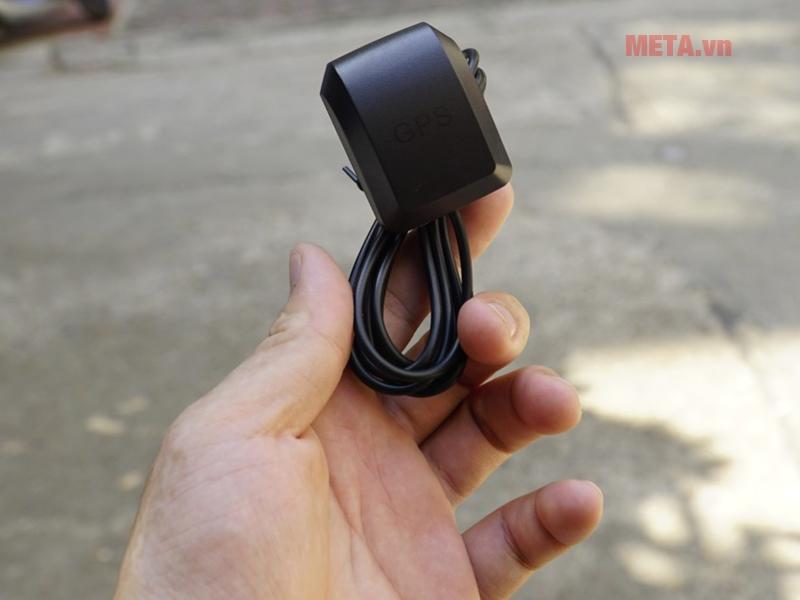 Camera hành trình Vietmap C62 ghi hình với thiết bị kết nối GPS