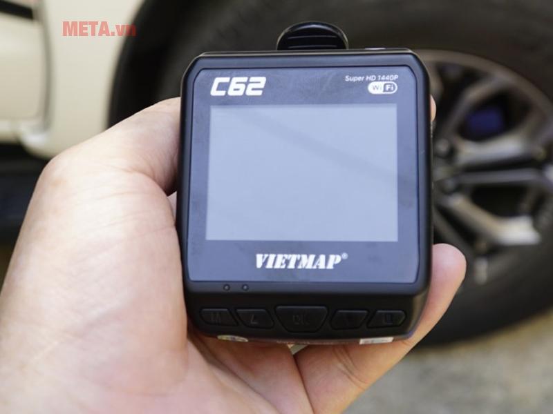 Màn hình camera Vietmap C62 hỗ trợ độ phân giải Ultra HD 2K