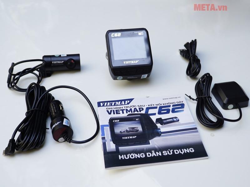 Bộ sản phẩm camera Vietmap C62