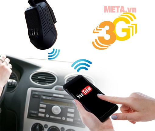 Camera Vietmap hỗ trợ kết nối mạng 3G