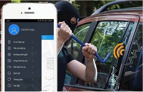 Camera Vietmap có chức năng cảnh báo chống trộm