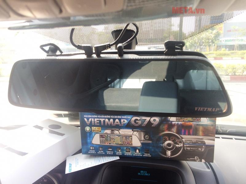 Màn hình gương 7,9 inch của Vietmap G79