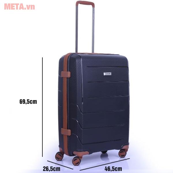 Kích thước của vali