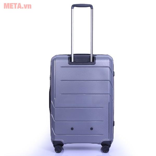 Mặt sau của vali