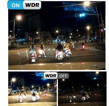 Camera Vietmap C61 hỗ trợ cân bằng ánh sáng, chống ngược sáng, quay hành trình ngày đêm