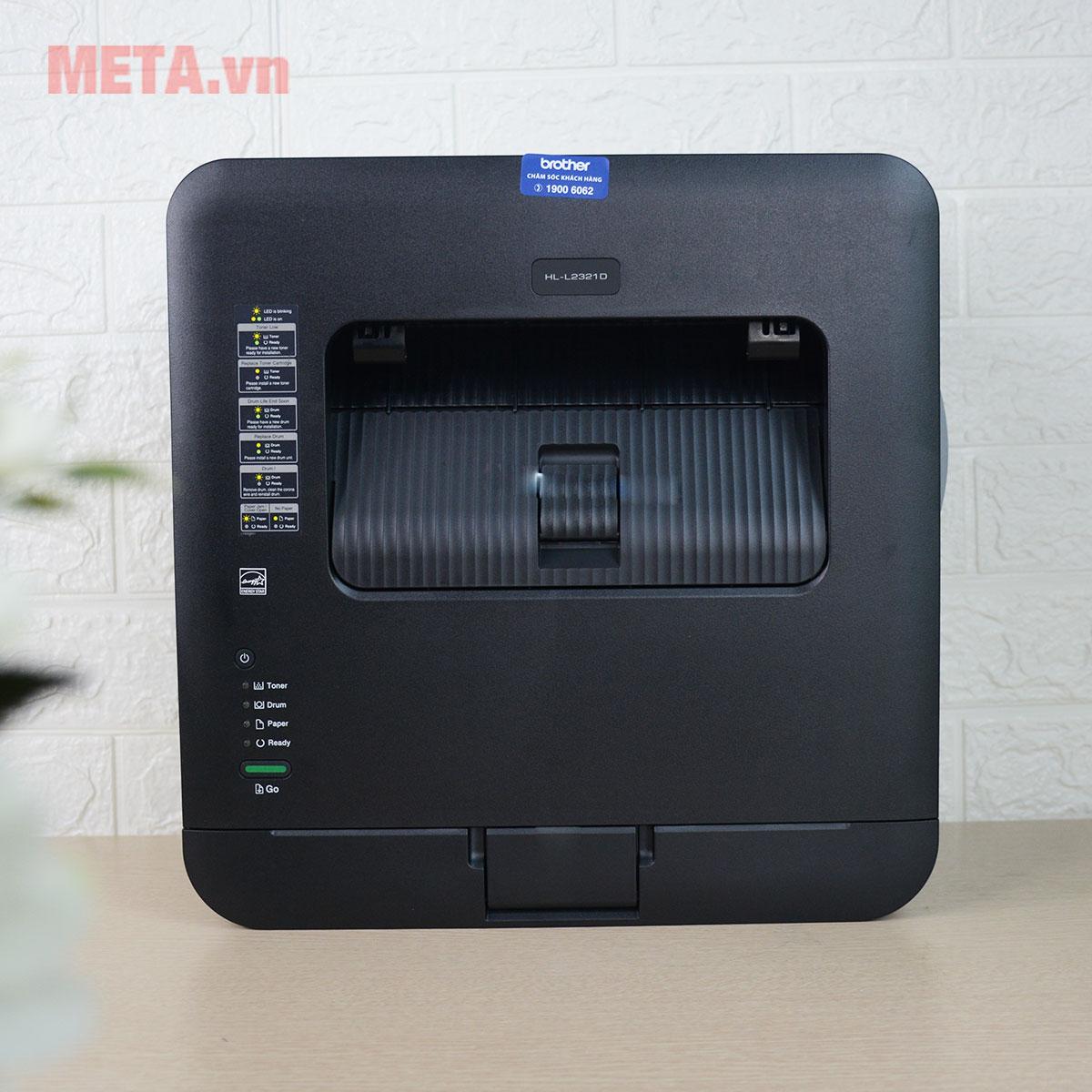 Mặt trên máy in