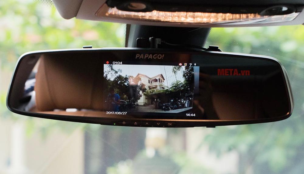 Camera hành trình Papago Gosafe 790 kiêm gương chiếu hậu 2 trong 1