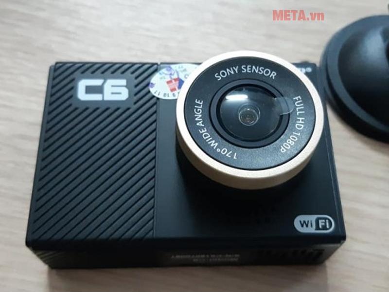 Thiết kế camera nhỏ gọn, dễ lắp đặt