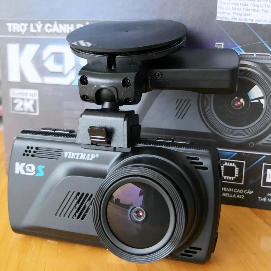 Camera Vietmap K9S hỗ trợ hình ảnh độ phân giải cao 2K