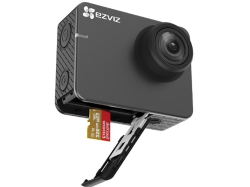 Camera hành trình Ezviz hỗ trợ thẻ nhớ dung lượng khủng 256Gb