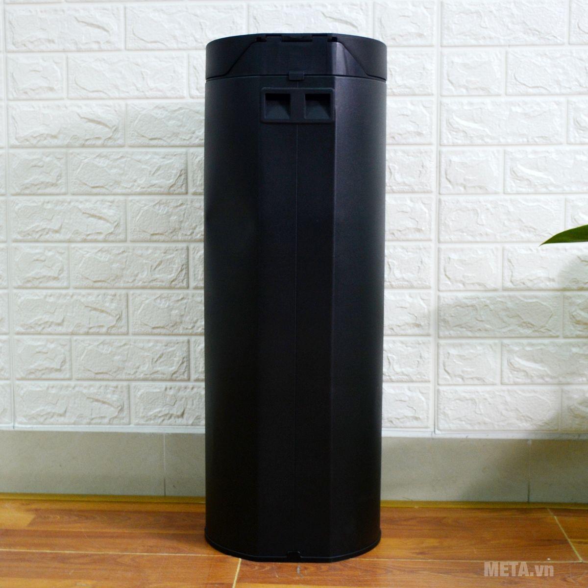 Mặt sau của thùng rác chống khuẩn Fitis RPL1-903