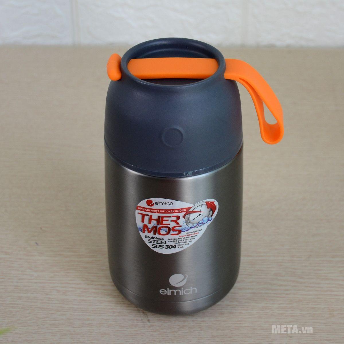 Bình giữ nhiệt Elmich 2242355 được làm từ inox 304 an toàn cho sức khỏe
