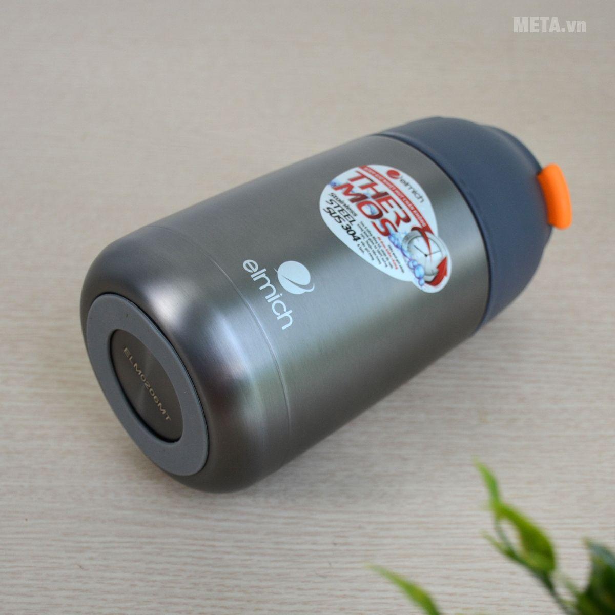 Bình giữ nhiệt có thiết kế nhỏ gọn, dễ dàng mang theo