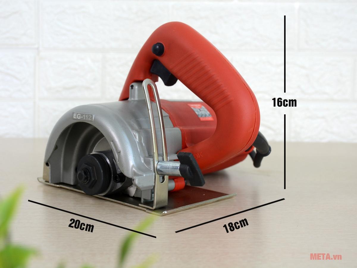 Kích thước máy cắt đa năng FEG EG-112