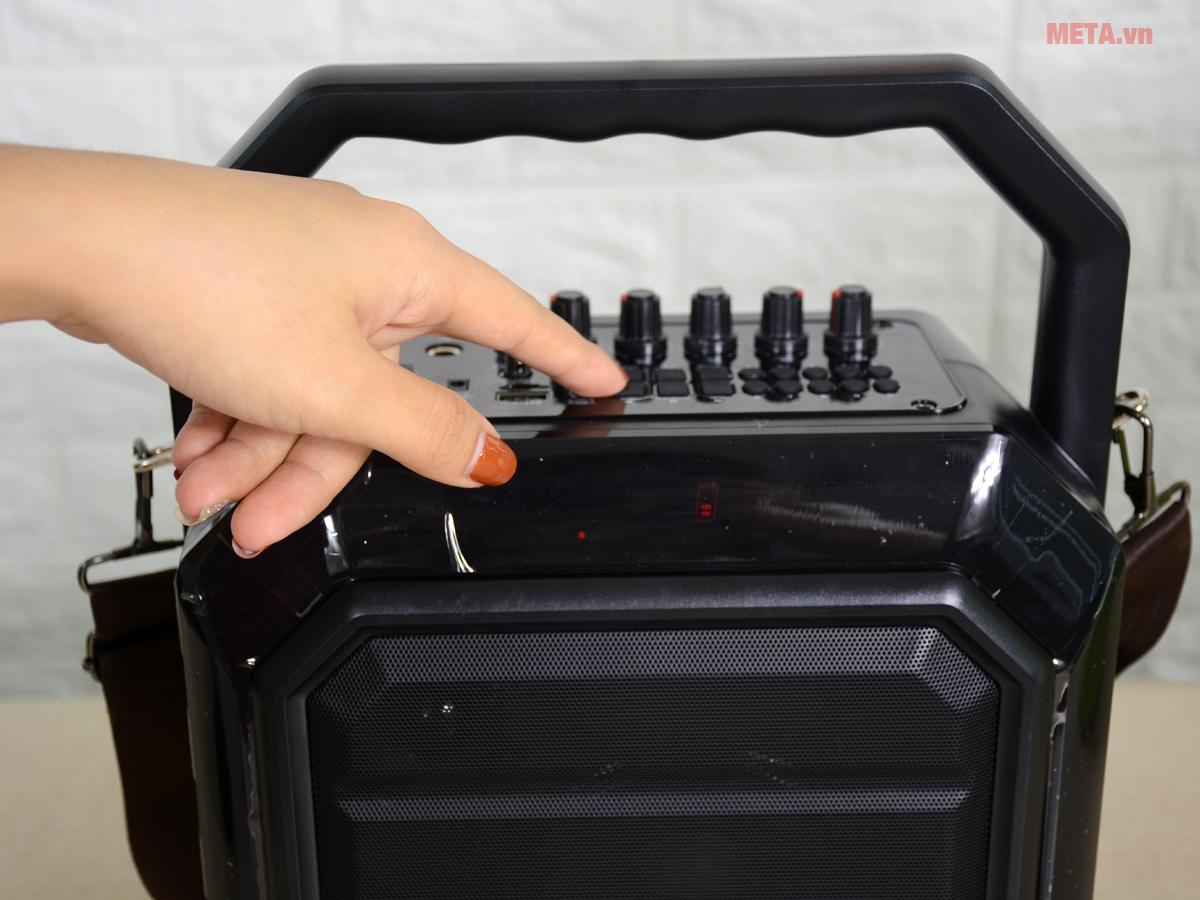 Loa xách tay bluetooth SHIDU H2 đa dạng kết nối nhạc