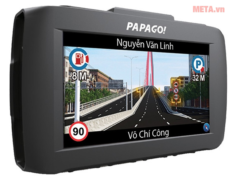 Camera hành trình Vietmap Papago 51G màn hình LCD độ phân giải cao