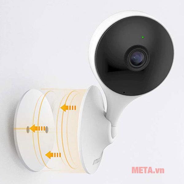Camera wifi Imou IPC-C22EP dễ dàng lắp đặt trên tường