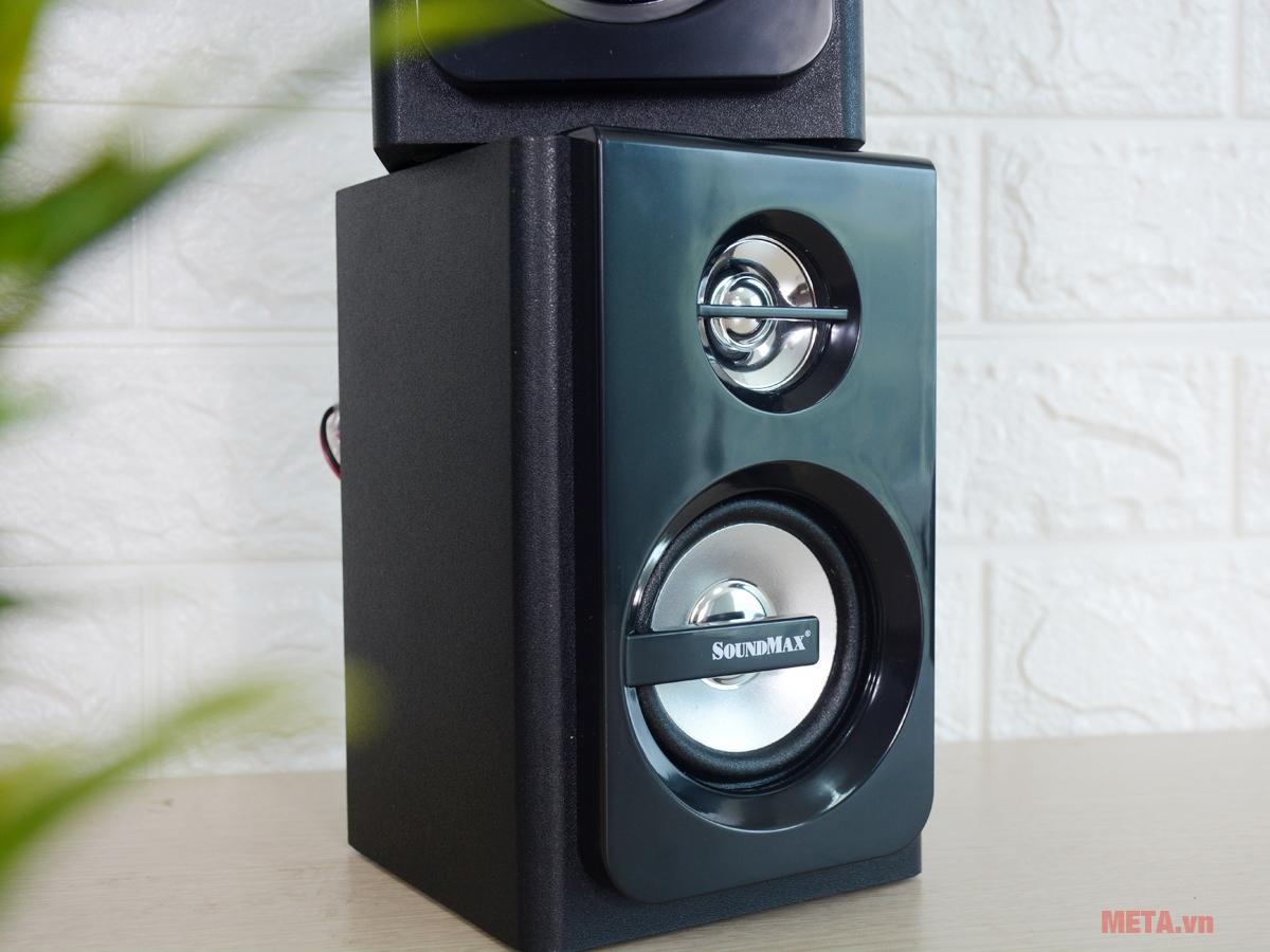 Loa vi tính SoundMax A2117 2.1 cho dải âm sống động
