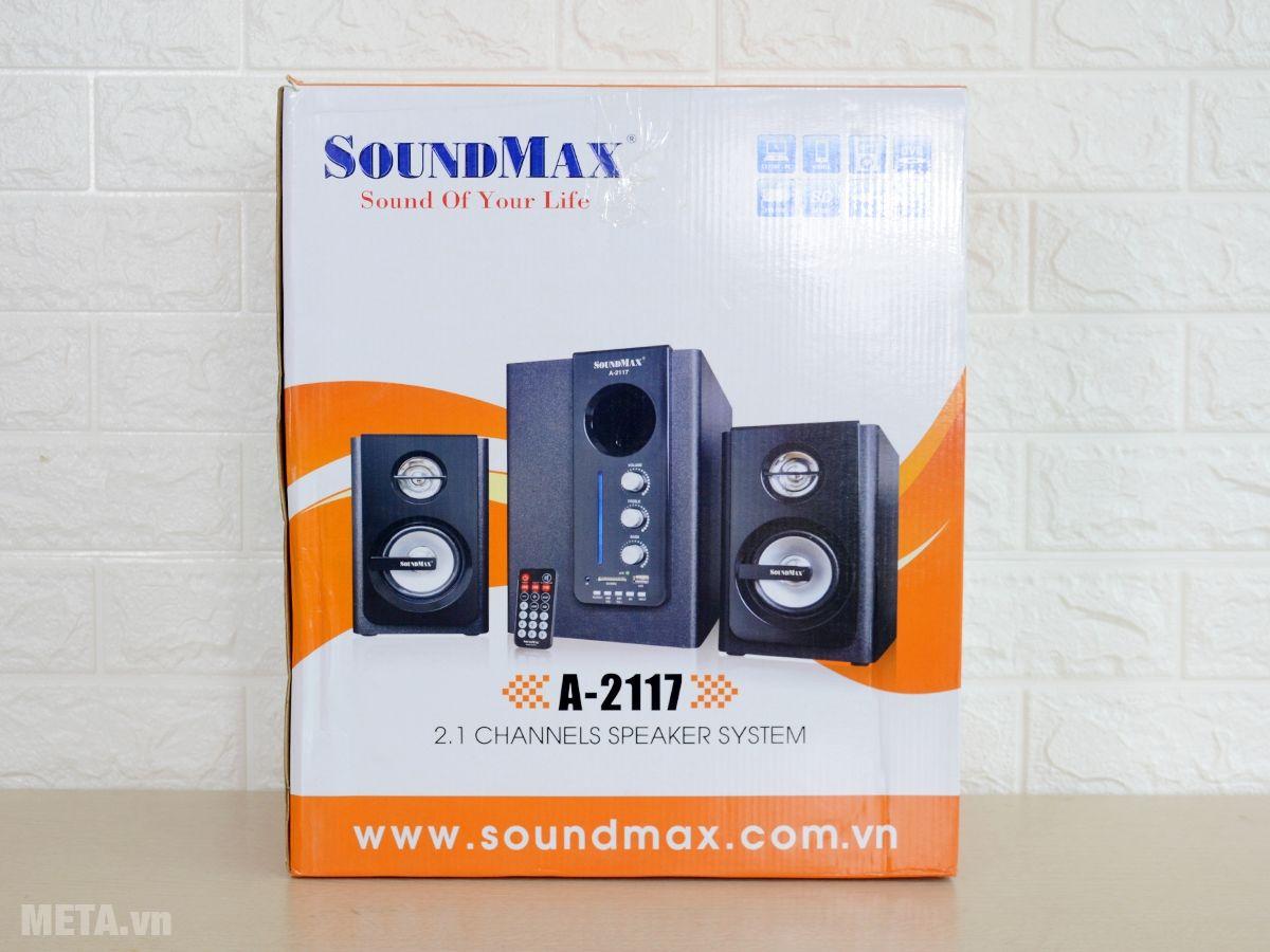 Hộp đựng loa bluetooth SoundMax A2117 2.1
